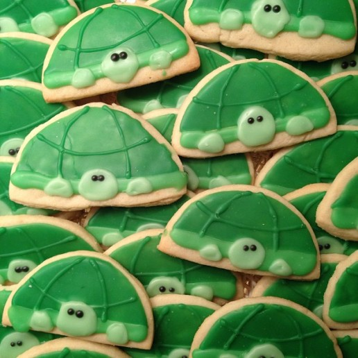 Turtle Sugar Cookies