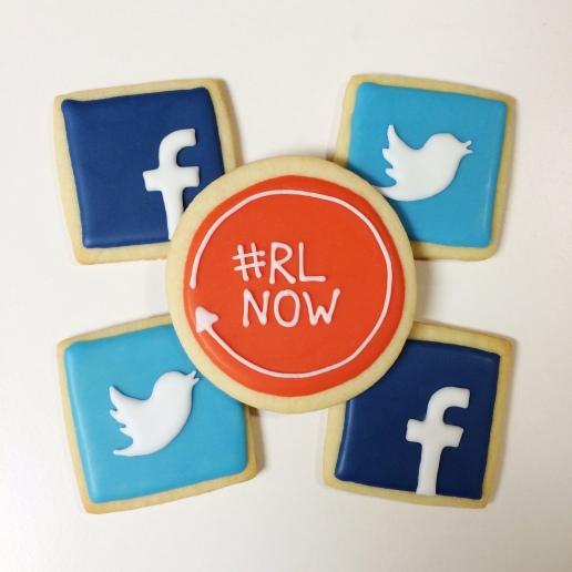 Social Media Cookies / © Dallas Bakes! 2014