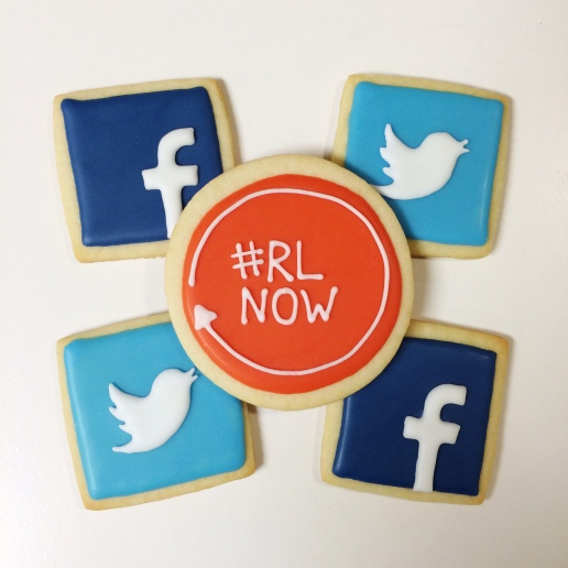 Social Media Cookies / © Dallas Bakes! 2014