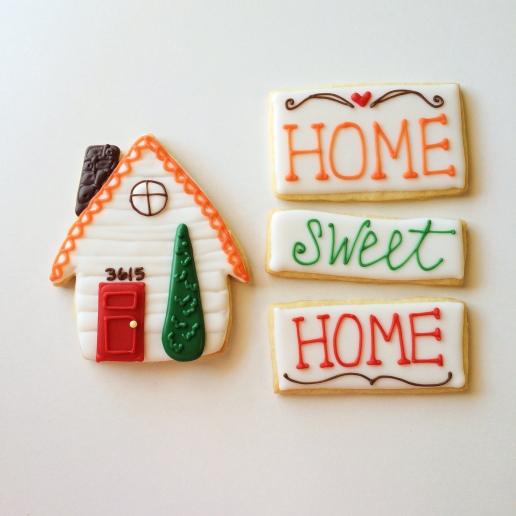 Housewarming Gluten-Free Cookies / © Dallas Bakes! 2014