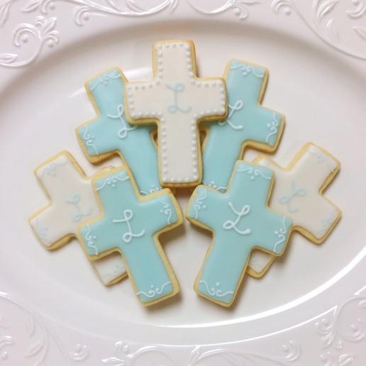 Baptism Cookies / © Dallas Bakes! 2014