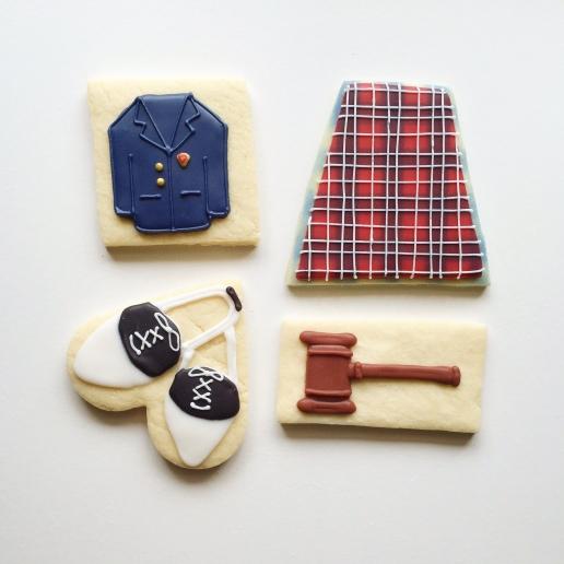 Ursuline Academy Cookies / © Dallas Bakes! 2015