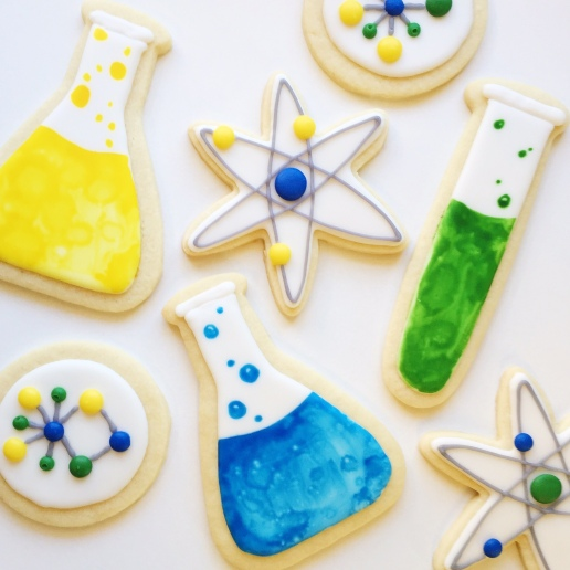 Science Cookies / © Dallas Bakes! 2015