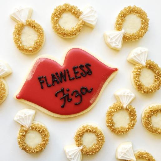 Bachelorette Cookies / © Dallas Bakes! 2015