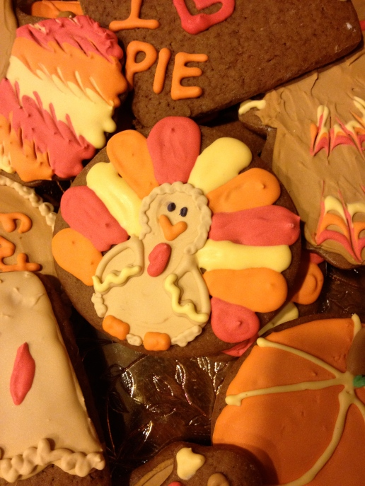 Turkey & Thanksgiving Cookies