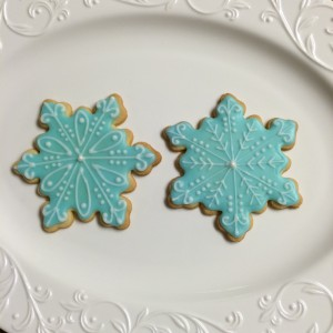 Snowflake Cookies / © Dallas Bakes! 2013