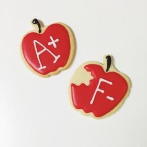 Apple Teacher Cookies