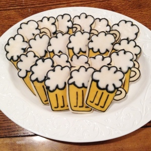 Beer Mug Cookies / © Dallas Bakes! 2013