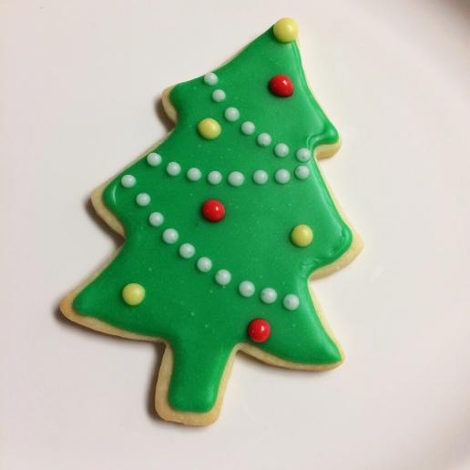 Christmas Tree Cookie / © Dallas Bakes! 2013