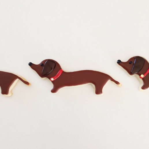 Dachshund Cookies / © Dallas Bakes! 2015