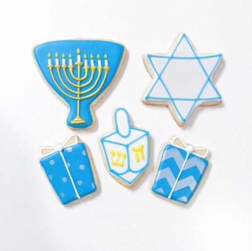Hanukkah Cookies / © Dallas Bakes! 2015
