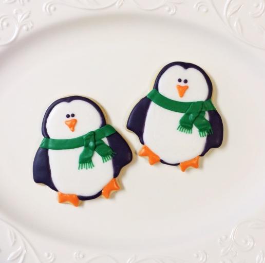 Penguin Cookies / © Dallas Bakes! 2015