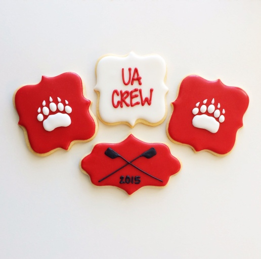 Ursuline Academy Crew Cookies / © Dallas Bakes! 2015